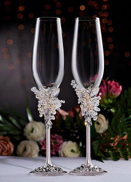 تزیین جام عسل عروس و داماد, تزیینات عقد و عروسی