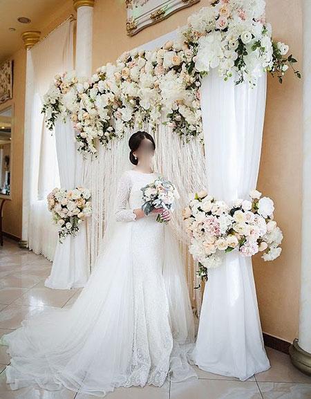 تزیین برای عروسی,عکس استیج عروسی
