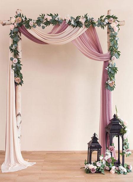 تزیین عروسی,عکس استیج شب عروسی