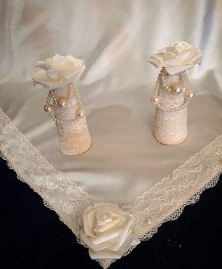 سفره قند مراسم عقد,سفره قند عروس برای عقد,تزیین سفره قند ساب