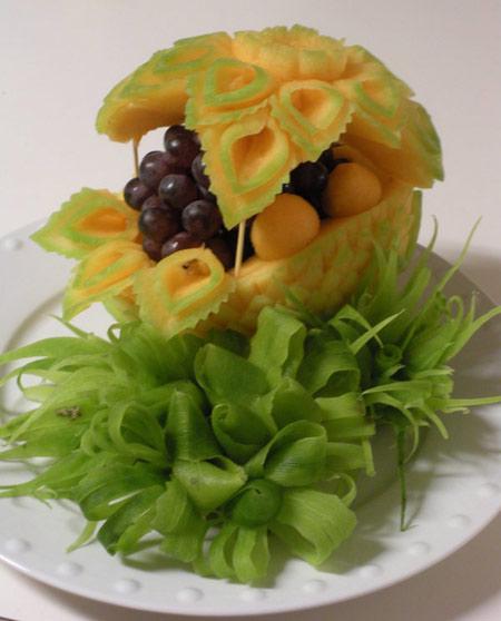 مدل های تزیین هندوانه, میوه آرایی شب چله