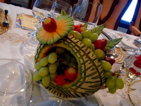 شب یلدای امسال,میوه آرایی شب چله