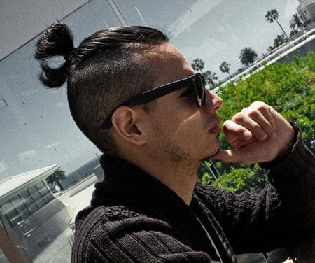 مدل مو سامورایی,انواع مدل موی سامورایی,مدل موهای سامورایی