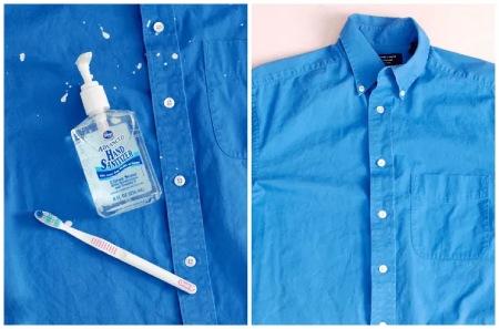 لکه های رنگ از روی لباس, تمیز کردن لکه های رنگ از روی لباس, نحوه ی تمیز کردن لکه های رنگ از روی لباس