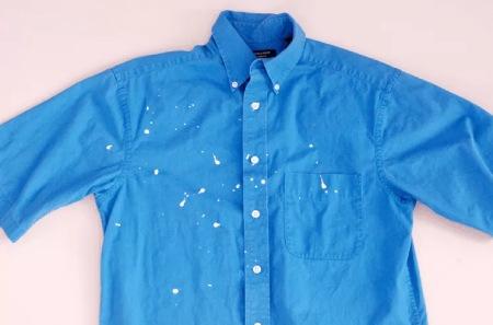 نحوه ی پاک کردن لکه های رنگ از روی لباس و پارچه, بهترین روش برای پاک کردن لکه های رنگ از روی پارچه, راههای تمیز کردن لکه های رنگ از روی پارچه