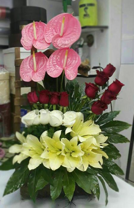 تزیین دسته گل خواستگاری,مدل دسته گل خواستگاری