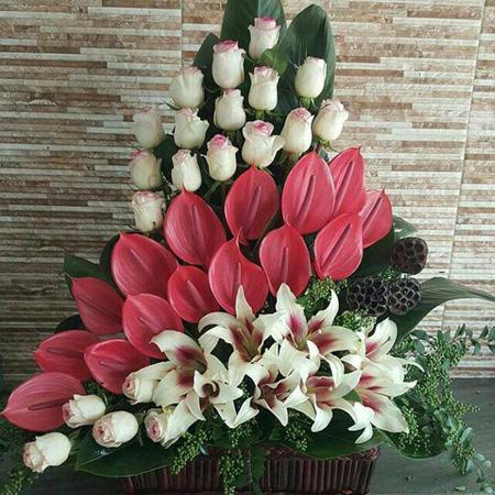 دسته گل خواستگاری, مدل دسته گل خواستگاری