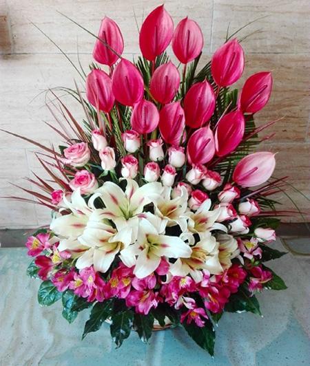 دسته گل های خواستگاری, مدل گل خواستگاری