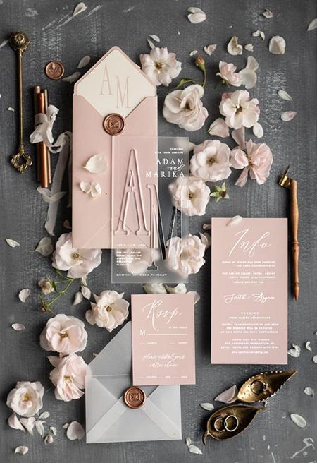 کارت دعوت مراسم عروسی, مدل های کارت دعوت مراسم عقد