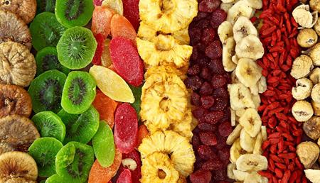 طرز خشک کردن میوه,روش خشک کردن میوه