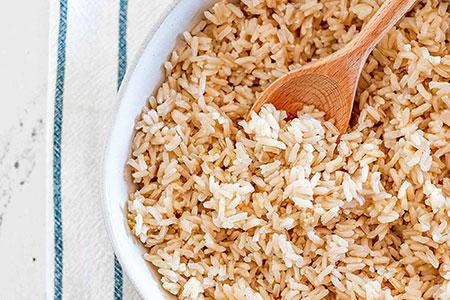 خواص برنج قهوه ای,تفاوت برنج قهوه ای با برنج سفید