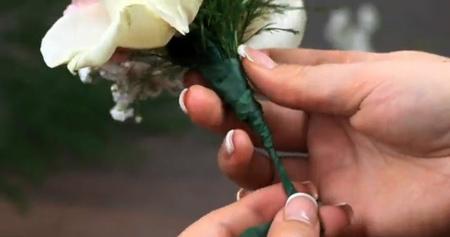 آموزش مرحله ای درست کردن دسته گل,آموزش ساخت دسته گل