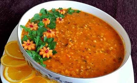 نکاتی برای خوشمزه شدن سوپ جو,اصولی برای خوشمزه شدن سوپ