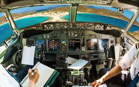 هوانوردی,برای خلبانی چه رشته دبیرستان