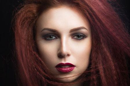 رنگ موی دارچینی,تصاویر رنگ موی دارچینی