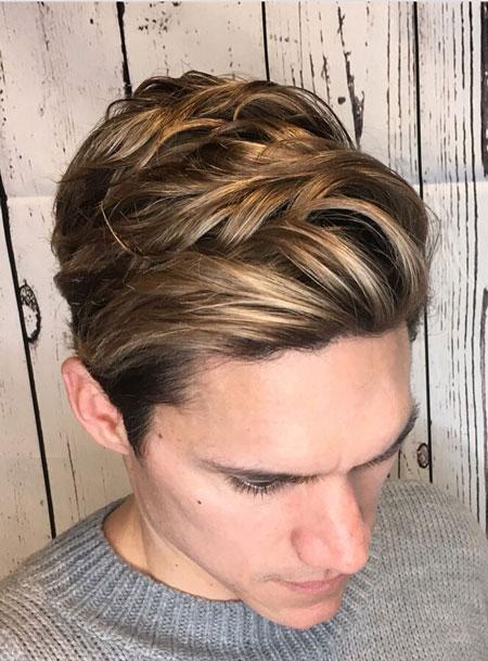 رنگ موی مردانه,رنگ موهای مخصوص آقایان,رنگ کردن مو مردانه