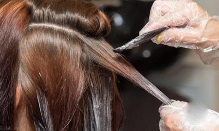 رنگ کردن مو,طریقه رنگ کردن مو,روش رنگ كردن مو