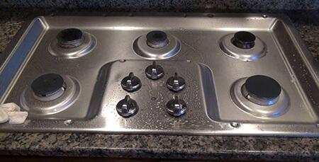 راهنمای تمیز کردن لکه ی اسید از روی ظروف, نحوه ی تمیز کردن لکه های اسید از روی سطوح استیل, تمیز کردن لکه ی اسید از روی فلز ضد زنگ