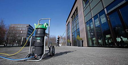 تمیز کردن نمای ساختمان,روش های تمیز کردن نمای ساختمان