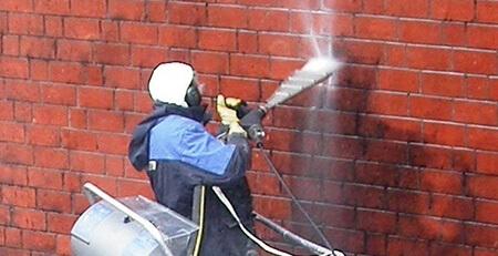 تمیز کردن نمای ساختمان با ساینده ها,علت تمیز کردن نمای ساختمان ها