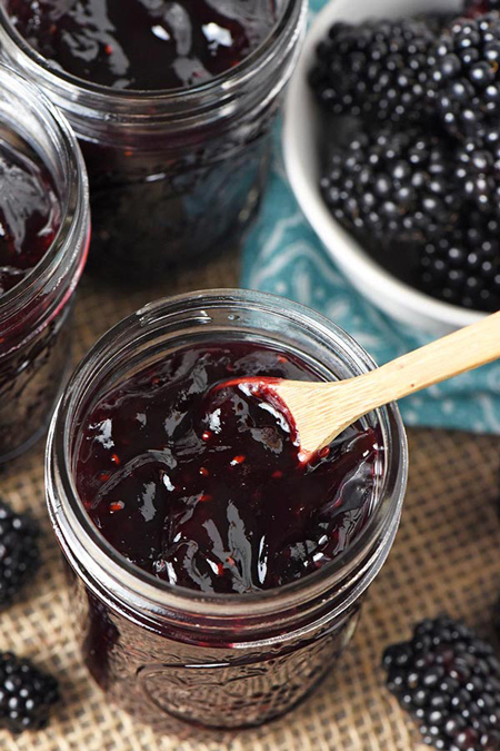 چگونه مربای توت سیاه درست کنیم,طرز تهیه مربای توت