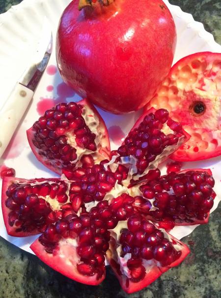 راههای دانه کردن انار,نکته هایی برای دانه کردن انار