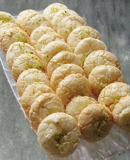 شیرینی نارگیلی عید,شیرینی نارگیلی با پیمانه
