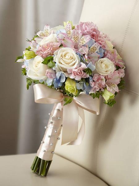 دسته گل عروس برای عقد محضری, تصاویر دسته گل عقد محضری