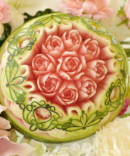 نقاشی روی هندوانه, طراحی هندونه
