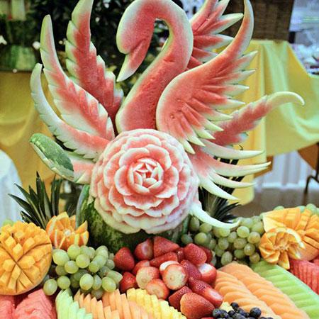 تزئین هندوانه, طراحی هندوانه