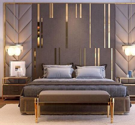 نحوه ی طراحی دیوار پشت تخت, تزیین دیوار پشت تخت, طراحی دیوار پشت تخت