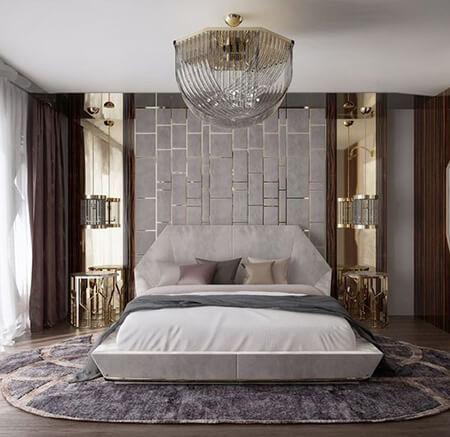 طراحی دیوار پشت تخت, ایده هایی برای تزیین دیوار پشت تخت, نحوه ی تزیین دیوار پشت تخت