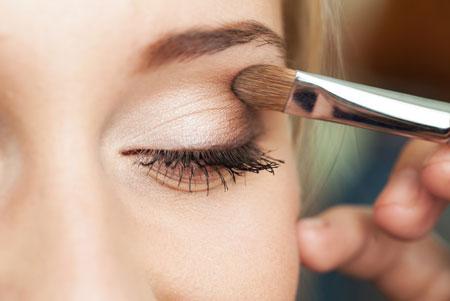 آرایش صورت, طرز آرایش صورت, طرز آرایش صورت در زمان کوتاه