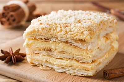 درست کردن شیرینی ناپلئونی, نحوه ی درست کردن شیرینی ناپلئونی