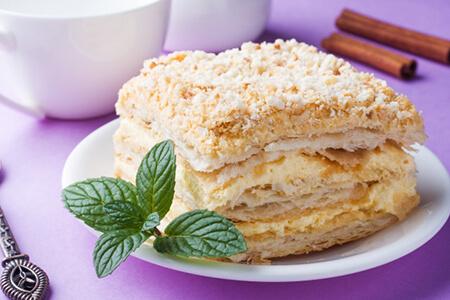 شیرینی ناپلئونی,طرز تهیه شیرینی ناپلئونی