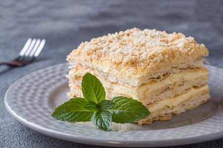 طرز تهیه شیرینی ناپلئونی با خمیر هزارلا, طرز تهیه ی خمیر هزار لا