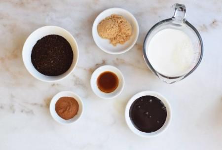 تهیه ی قهوه مکزیکی, درست کردن قهوه مکزیکی, مواد لازم برای تهیه ی قهوه مکزیکی