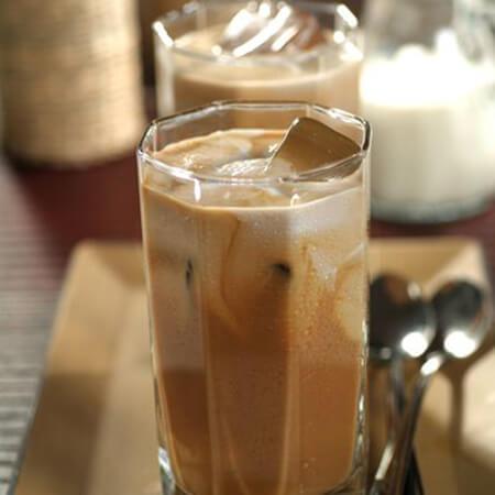 درست کردن قهوه ی سرد یخی, طرز درست کردن قهوه یخی تایلندی, قهوه ی سرد تایلندی