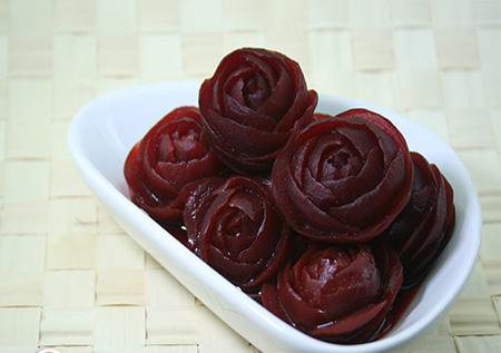 مربا به شکل گل,طرز تهیه مربا به شکل گل