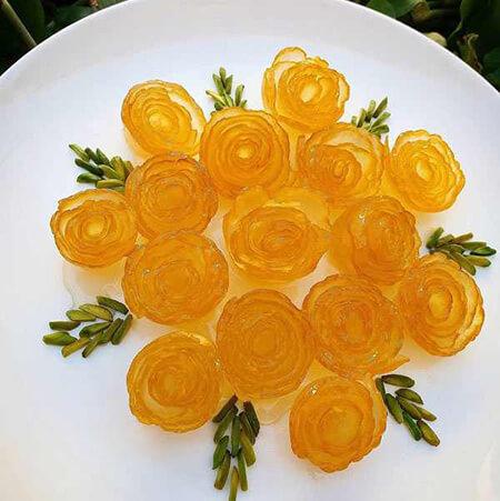 کاربرد مرباهای گل, پخت انواع مربا
