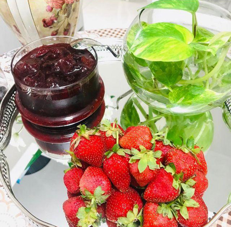 مربای توت فرنگی,طرز تهیه مربای توت فرنگی