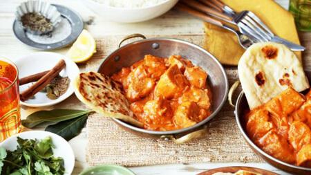 طرز تهیه مرغ ماخانی, مرغ ماخانی هندی, طرز تهیه مرغ ماخانی هندی