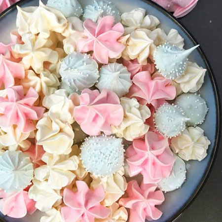 شیرینی پفکی,طرز تهیه شیرینی پفکی
