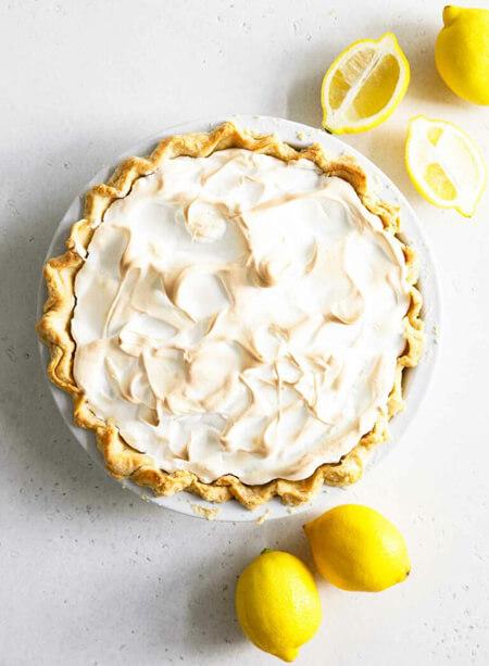 درست کردن پای مرنگ لیمو, نحوه ی درست کردن پای مرنگ لیمو,طرز پخت پای مرنگ لیمو