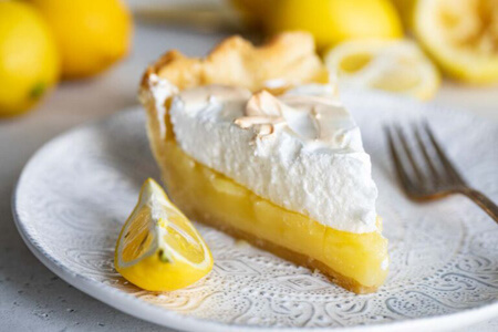 پخت پای مرنگ لیمویی, روش درست کردن پای مرنگ لیمویی, طرز تهیه پای مرنگ لیمویی