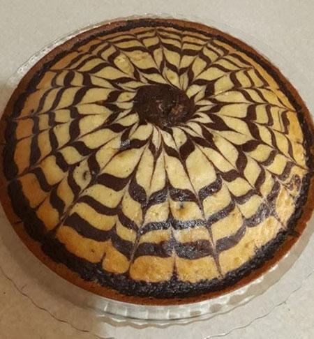 طرز تهیه کیک زبرا,تهیه ی کیک زبرا