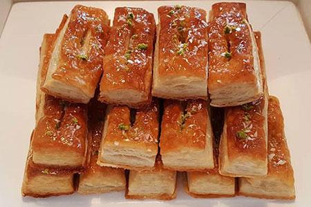 شیرینی زبون,تهیه شیرینی زبان و پاپیونی