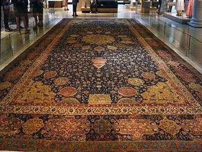 فرش اردبیل شیخ صفی, نام بافنده فرش اردبیل