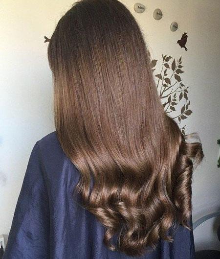 رنگ موی قهوه ای شکلاتی,رنگ مو شکلاتی ,فرمول ترکیبی رنگ موی قهوه ای شکلاتی