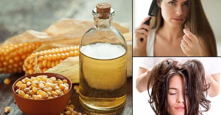 فواید ذرت برای پوست و مو, فوايد ذرت براي مو, کاربرد ذرت در موارد آرایشی و زیبایی